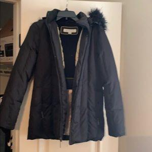 Liz Claiborne Black Jacket feather down size S